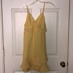 Cute yellow dress from altered state! *worn once*